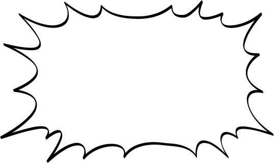 吹き出し素材「 : パンクふきだ ... : 時計 学習用 : すべての講義
